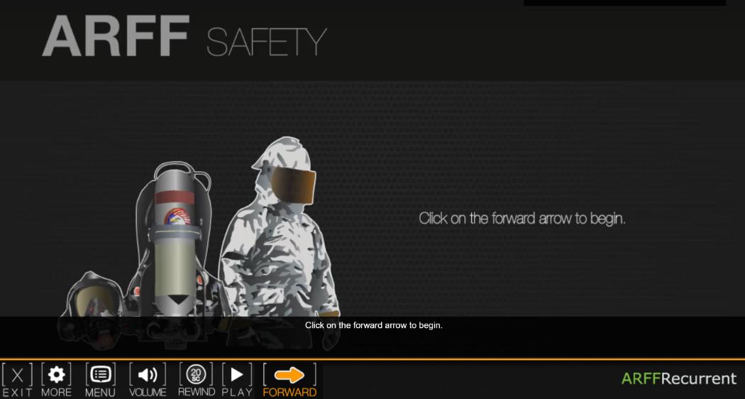 ARFF safety