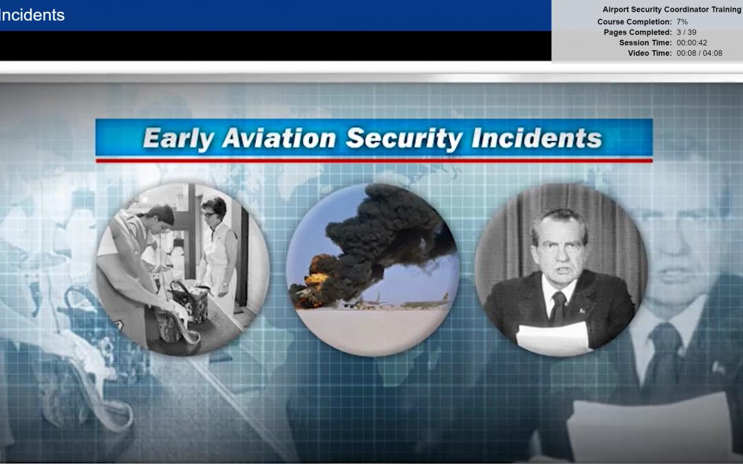 Airport Security Coordinator Certification Online