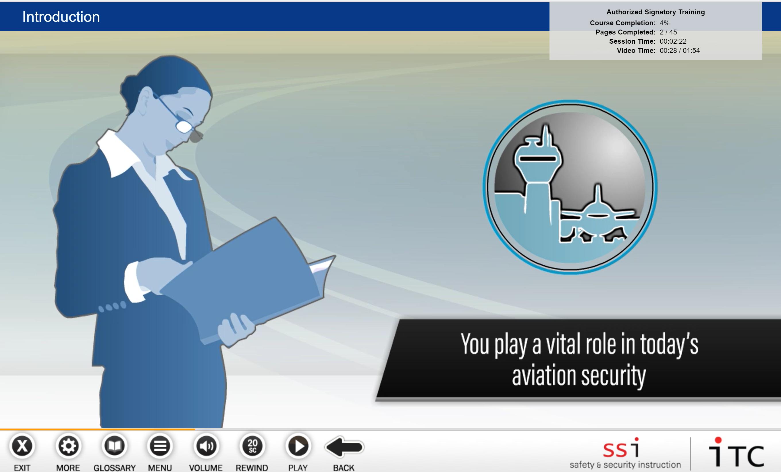 Authorized Signatory Training